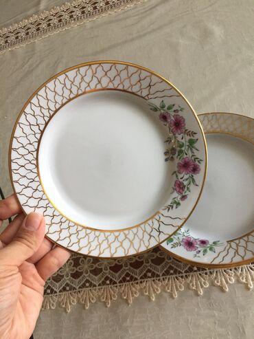 Продаю тарелки очень красивые, 6 шт- 600с