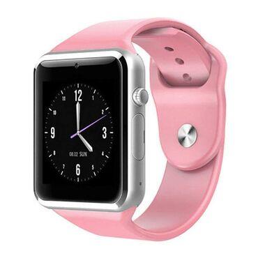 (Dostupni crni i roze)Smart sat pametan sat SA KUTIJOM **NOVO U