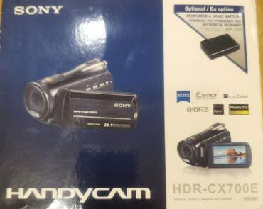 videokamera sony handycam в Азербайджан: Sony Handycam HDR-CX700E 8gb yaddaş20.1mega pixels