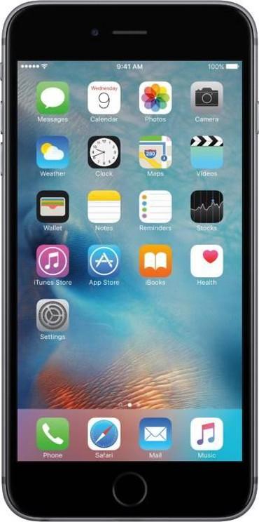 телефоны флай андроиды в Азербайджан: Iphone 6 plus 128gb ekran cizigsizdir, телефон чистый состояние