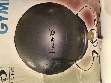 Pilates lopta, polulopta, balanser sa ručkom, uvoz Svajcarska