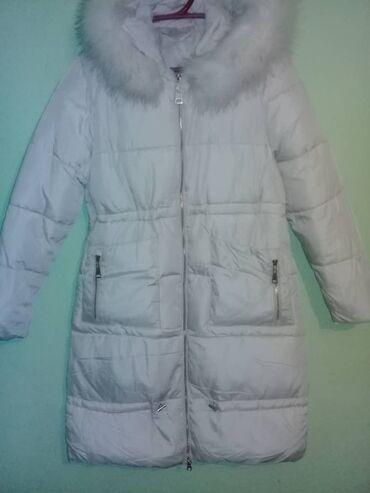 Серебряную цепочку купить - Кыргызстан: Продается куртка размер оверсайз теплая ниже колен куплена в
