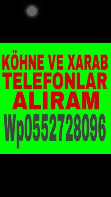 Bakı şəhərində Hercur telefon aliram kohne xarab prablemli 24 saat watsapa yaza biler