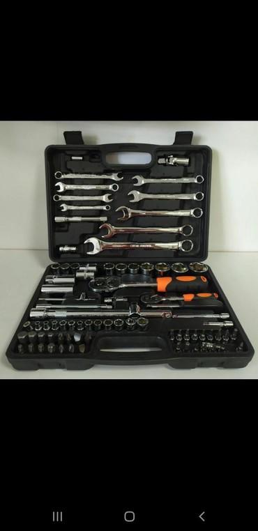 Наборы инструментов в Кыргызстан: Ключ набор 82 деталь !   Фирма: FORCE