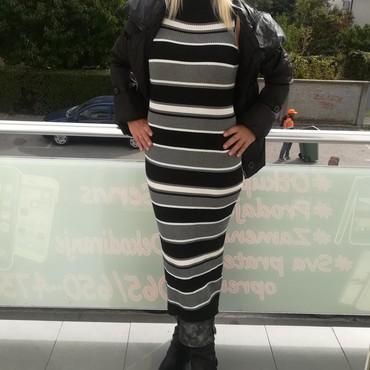 Preleoa duga haljina trikotaža pamuk - Batajnica