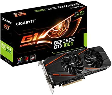 Продаю видеокарту Gigabyte GTX 1060 6gb G1 GamingВ хорошем состоянииС