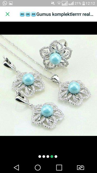 - Azərbaycan: Maviii muncuqlu gümüş sifadisle