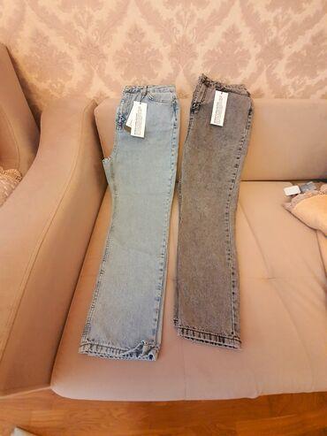 - Azərbaycan: 2 eded Mom jeans. Trendyoldan sifaris edilib. Razmer duz gelmediyi