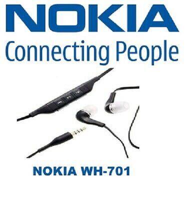 Extra Povoljno NOVE ORIGINAL NOKIA WH-701 Slušalice Nokia stereo