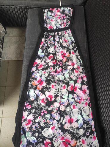 Haljine | Leskovac: AKCIJA! Duga haljina, nikad nosena. Velicina S