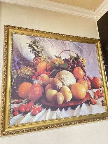 Почти за даромпродаётся картина, натюрморт размер 69/59состояние