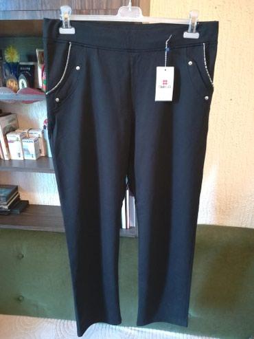 Crne pantalone sa dzepovima - Srbija: Nove zenske pantalone za punije Tommy Life. Turske. Odlicne zenske