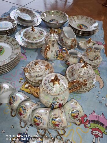 servizi - Azərbaycan: Çexiyanın MZ çay nahar kofe servizi.3ü bir yerdə 280azn
