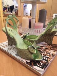 Nove sandale,38 br, nenosene - Pozega