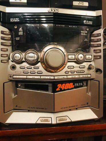 3 disk. 2 kaset. Radio. Bultuz. Pult. Modeli cvs  Vəziyyəti yaxşı