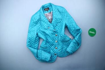 Жіноча однотонна демісезонна куртка Gina Bacconi p. XS   Довжина: 65 с