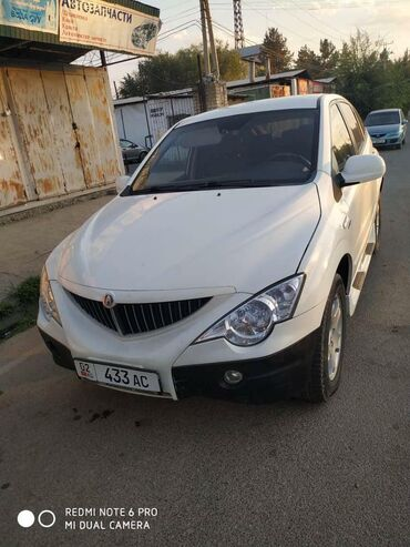 ssangyong new actyon в Кыргызстан: Hyundai 2 л. 2008 | 180000 км