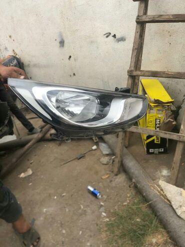 hundai accent - Azərbaycan: Hyundai accent Solari qabag sag fara işlenmis orjinal 2011