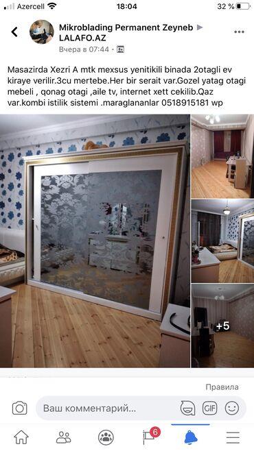 merdekanda ucuz kiraye evler в Азербайджан: Сдается квартира: 2 комнаты, 70 кв. м, Баку