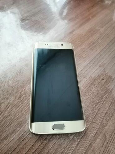 samsung s6 32gb в Кыргызстан: Б/у Samsung Galaxy S6 Edge 32 ГБ Золотой