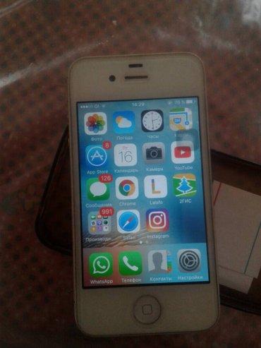 продаю или меняю 4s 16 gb состояния отличный все работает без никаких  в Бишкек
