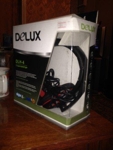 Продаю наушники с микрофоном DLH-4 Delux , в Бишкек