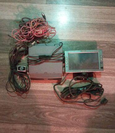 Orginal Panasonic dvd monitor arxa kamera micro kart gedir.Butun