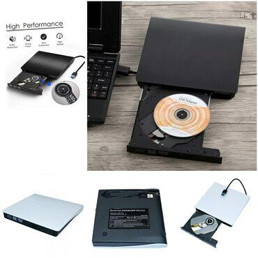 дисковод dvd rom в Кыргызстан: DLBM Портативный USB 3,0 DVD-RW Внешний DVD привод DVD проигрыватель