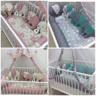 Ogradica za bebe - Srbija: 7500 din (1000 din avans)U setu dobijate:5 slončića koji služe kao