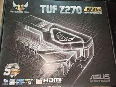 Материнская плата на 6 карт Asus TUF Z270
