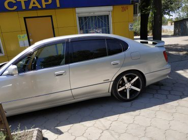 Продаю диски с хорошей резиной r19   Тойота аристо.  в Бишкек