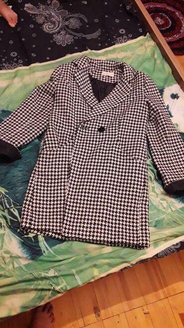 odin raz odevala na vypusknoj в Кыргызстан: Осенне- весеннее красивое деми пальто, гусиная лапа, ткань и качество