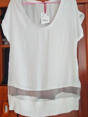 Женская НОВАЯ футболка блузка zara. Р-н 42-44. Привезла из Франции, к