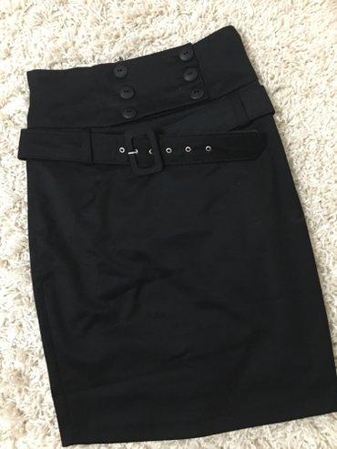 Crna zenska suknja,38 velicina,nova - Kragujevac