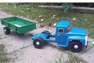 Куплю игрушечные грузовики СССР  Вывоз из любого региона КР