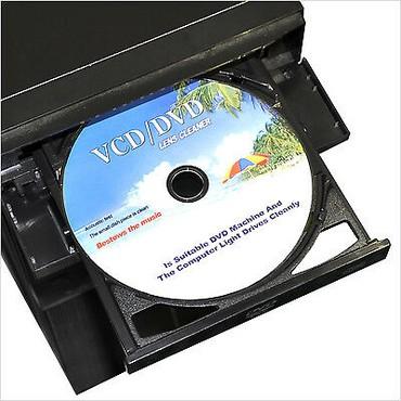 чистые диски оптом в Кыргызстан: VCD/DVD для чистки дисководов, автомагнитол с очищающим средством -