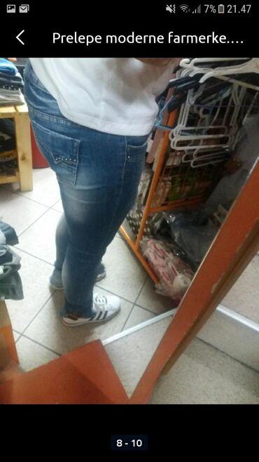 Ženske farmerke | Sokobanja: Ženske pantalone kao nove bez ostecenja. S/m.pogledajte i ostale moje