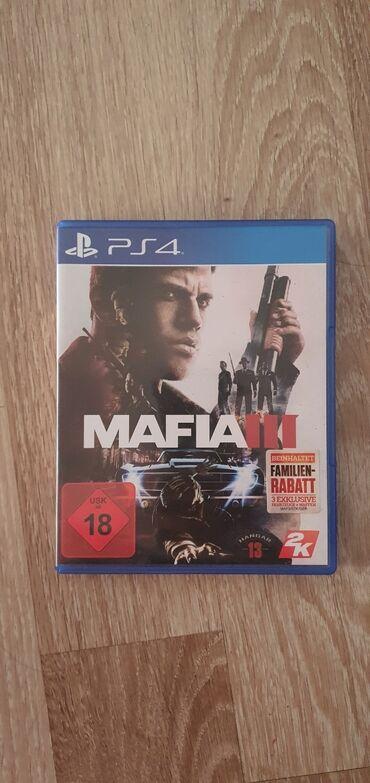 Plac - Srbija: Mafia 3PS4 igra je bez ikakvog ostecenja kako CD tako i omot.Na