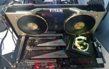Продаю Rtx titan срочно надо сыну плойку 4 купил видеокарту месяц
