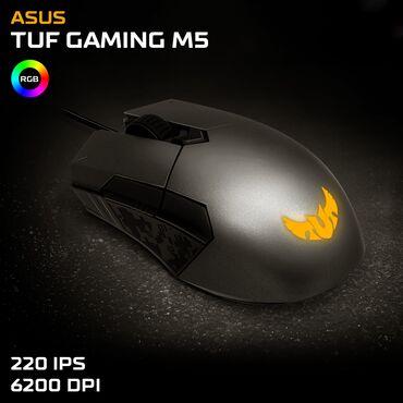 audi-quattro-22-20v - Azərbaycan: Asus TUF Gaming M5 - RGBGaming mouseYeni - Bağlı qutudaDPİ: 6200İPS