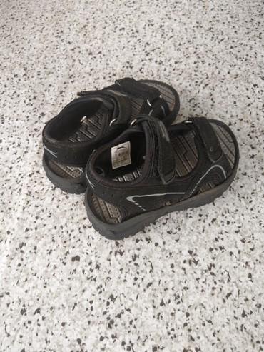 Crne sandale za decaka...Broj 25 Ocuvano - Kucevo