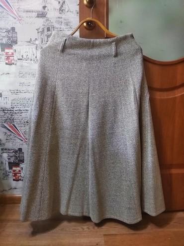юбки из плотного трикотажа в Кыргызстан: Юбки женские в хорошем состоянии (зимняя-трикотаж и летняя)