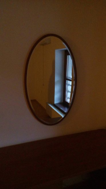 Kućni dekor - Sopot: Ogledalo uvoz italija prva klasa oborene ivice drveni ram svaka