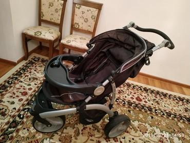 детский трехколесный в Кыргызстан: Продаю б/у коляску+автокресло Chelino в идеальном состоянии.Chelino