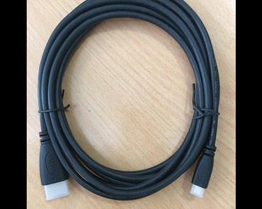 HDMI-vicro HDMI- 3 метра -новый кабель. в Бишкек