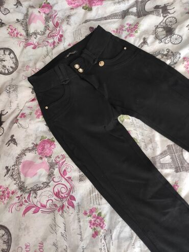 Pantalone lantis - Srbija: Nove crne pantalone, obucene mozda jednom, na zalost meni male. Veoma