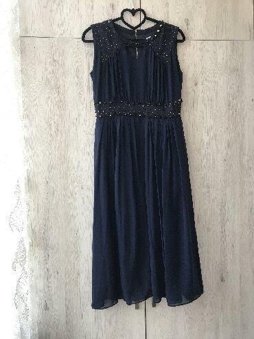 вечернее платье ниже колен в Кыргызстан: Синее платье. Подойдет как на корпоратив, так и на др мероприятия. Сза