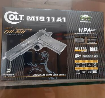 Sport i hobi - Sremska Mitrovica: AirSoft Colt M1911A1 AirSoft Colt M1911A1 je pistolj odradjen od