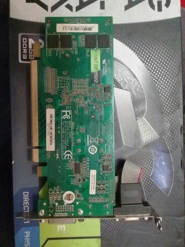 Video karta personalniy kompyuter üçün Geforce GXT 120 1 GB DDR 3 в Bakı