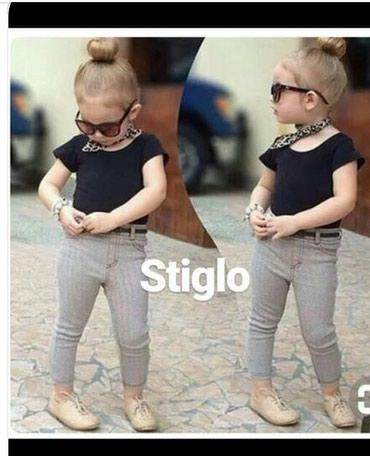 Ostala dečija odeća | Tutin: Komplet za devojcice velicina 2-3u kompletu pantalone majca i marama